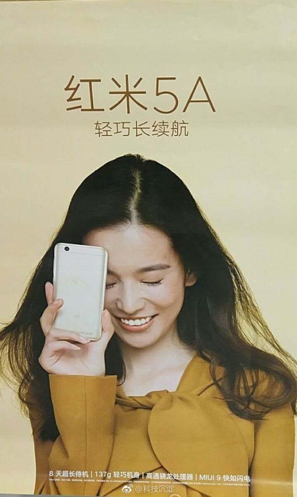 20. Xiaomi 5a