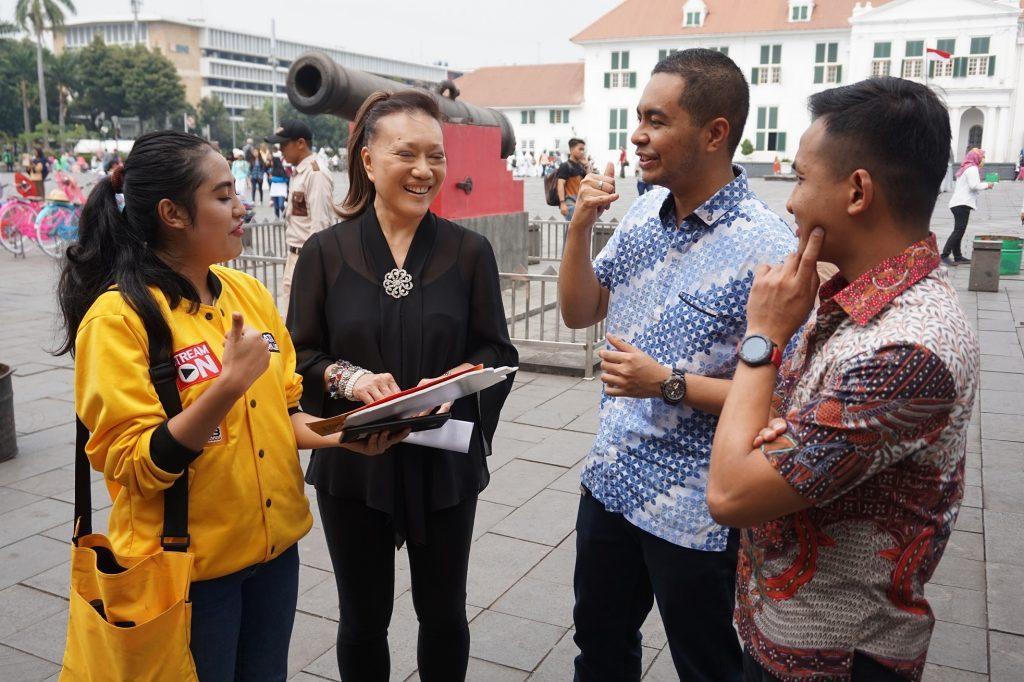 Tim IM3 Ooredoo, Mrs. Mei Cheong, Sharif Mahfoedz, Reginald Agustian